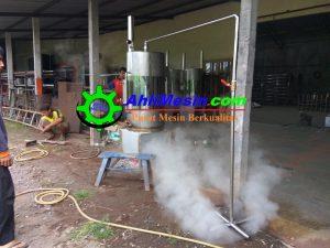 mesin boiler tahu
