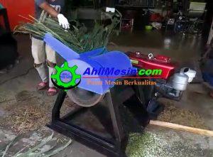 mesin pencacah pelepah sawit